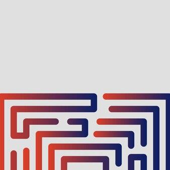 추상, 현대, 모양, 광장, 여러 가지 빛깔의, 빨강, 파랑, 회색 그라데이션 바탕 화면 배경 벡터 일러스트 레이 션