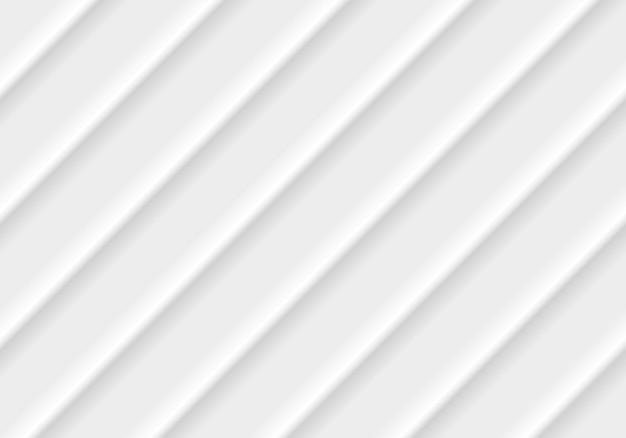 Абстрактные современные полосы линии белый и серый вектор абстрактный фон Premium векторы