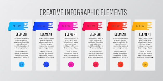 Abstract modern style design template layout.