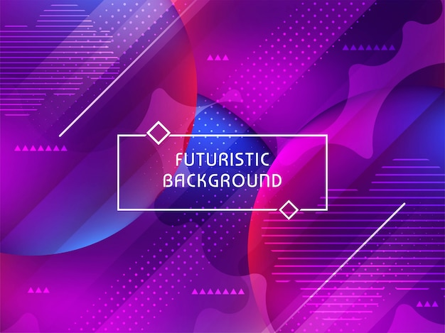 Abstract modern stylish futuristic background