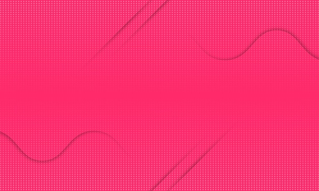 Abstract modern wave shadow line with halftone background.