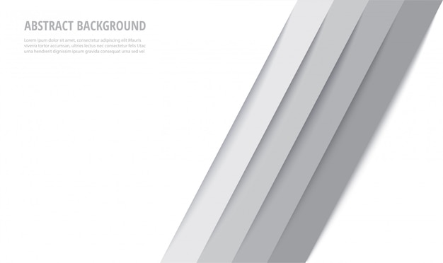 Abstract modern white lines background