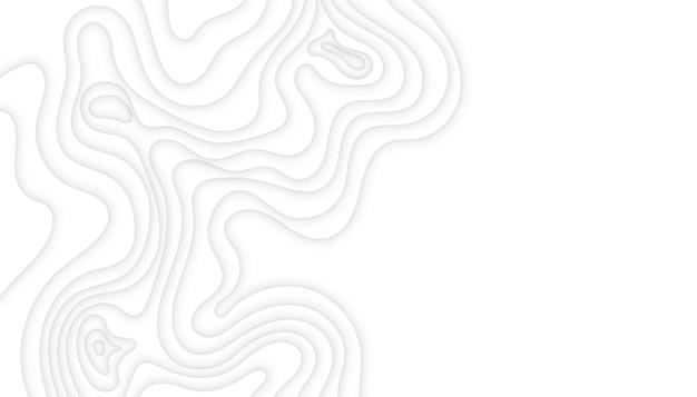 추상적인 현대 흰색 papercut 배경