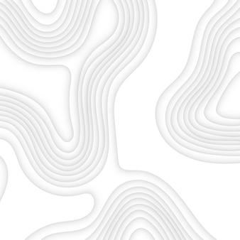 추상 현대 흰색 papercut 사각형 배경
