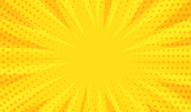 抽象的なモダンな黄色の背景 Premiumベクター
