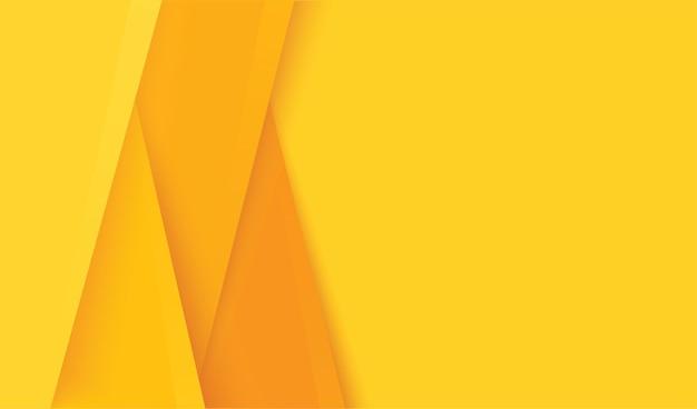 抽象的なモダンな黄色のレイヤーの背景