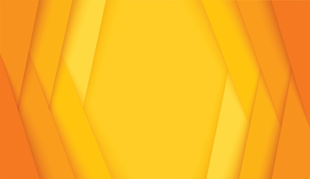 Abstract modern yellow lines background