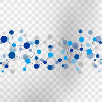 Molecule Vectors Photos And PSD Files