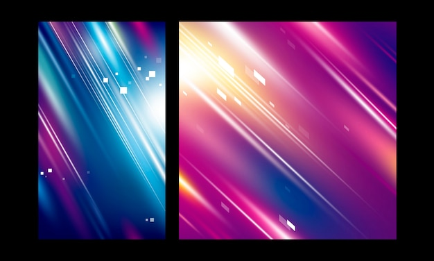 Abstract motion color background speed technology