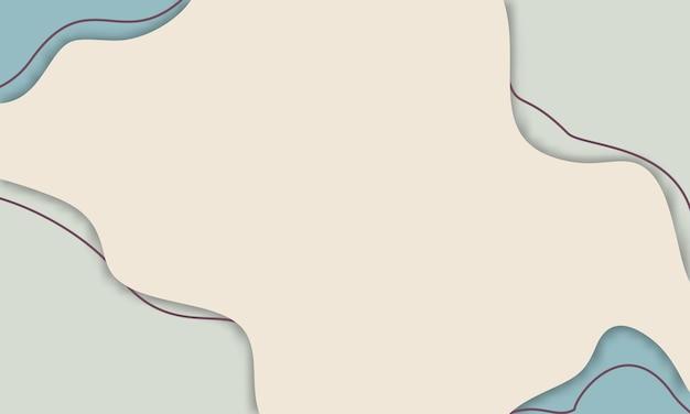ペーパーカットスタイル、カラフルなモダンなペーパーカットの背景を持つ抽象的な多色モダンな背景