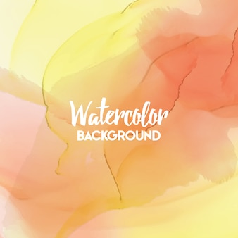 Abstract multicolor watercolor background