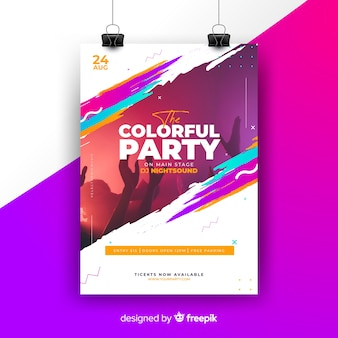 Party Flyer Vectors, Photos and PSD files | Free Download
