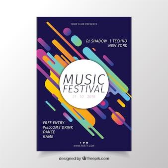 Афиша фестиваля музыки