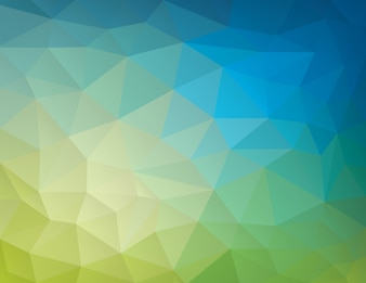 Abstract nature geometric triangular low poly background
