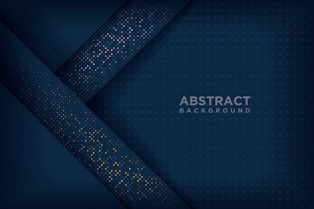 Abstract navy blue 3d backgrounds.