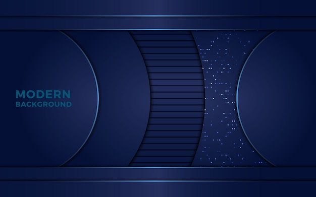 Abstract navy blue background