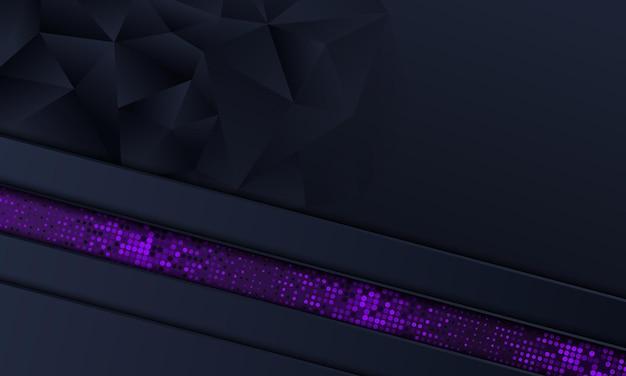 Абстрактная военно-морская полоса и фиолетовый точечный фон. векторная иллюстрация.