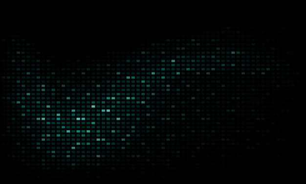 Abstract neon background with glitch sparkling shape