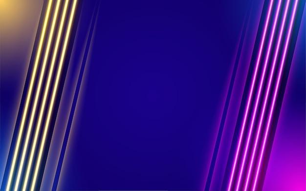 Абстрактный неоновый светлый фон