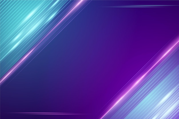Abstract neon lights background design