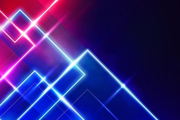 Progettazione astratta del fondo delle luci al neon