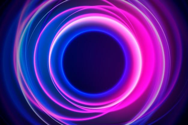 Абстрактный стиль фона неоновых огней