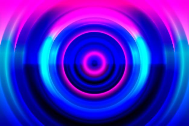 Абстрактный фон неоновые огни