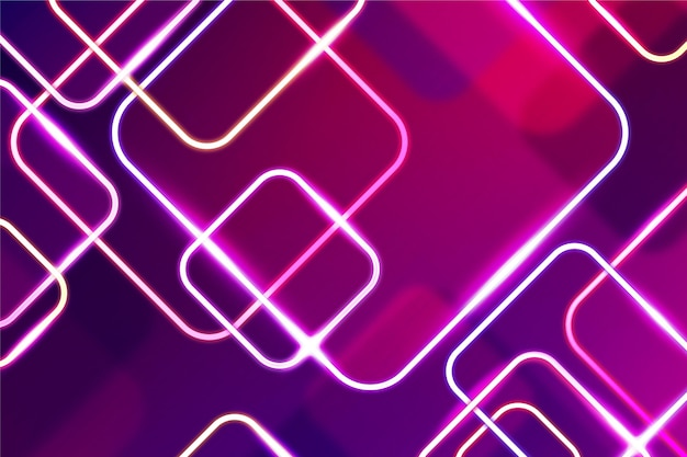 Abstract neon lights background