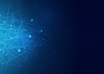 抽象的なネットワーク接続の背景
