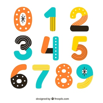 Abstract number collection