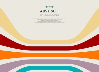 Abstract of colorful strip line pattern background
