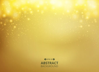 Abstract of gold gradient background
