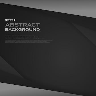 グラデーション、黒、紙、カット、背景