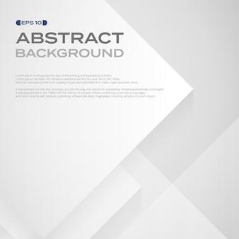 Абстрактный квадратный рисунок белой бумаги в фоне слоев