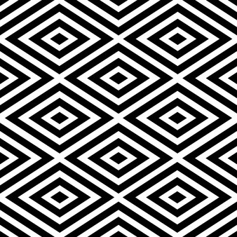 Abstract optical native american style black vector pattern