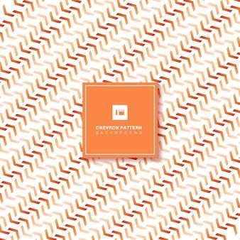 Abstract orange chevron pattern