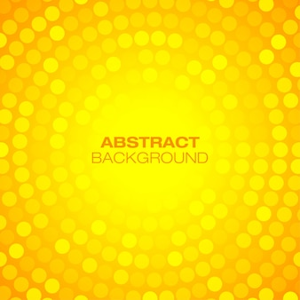 Абстрактный оранжевый круговой технологии фон
