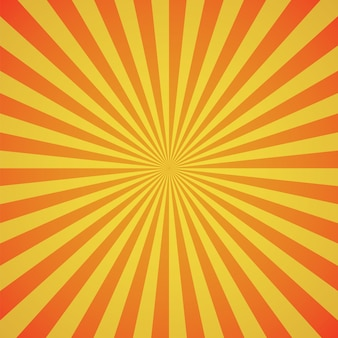 Abstract orange color burst background.