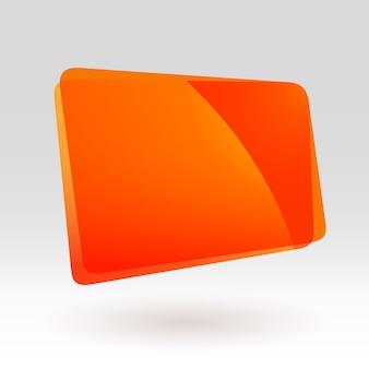 Abstract orange geometric gradient icon colorful vector illustration