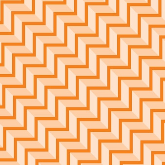 Abstract orange geometric pattern