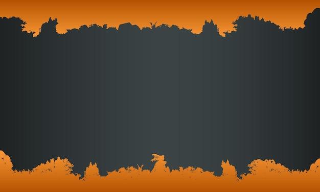 어두운 배경에 추상 오렌지 그런 지입니다. 포스터, 배너에 대한 비즈니스 디자인입니다.