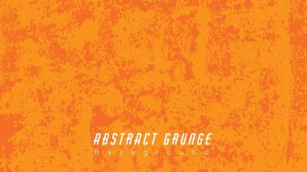 抽象的なオレンジ色のグランジ