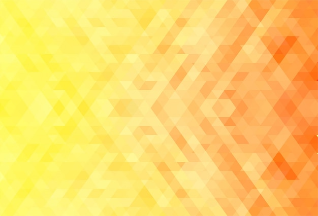 Abstract orange and yellow geometric shapes background