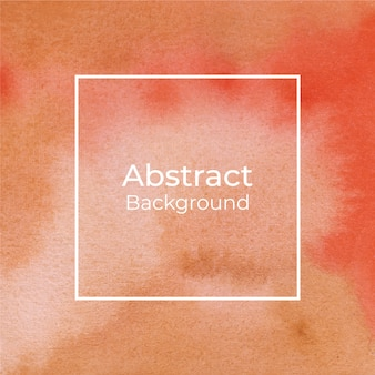 Abstract orange and yellow watercolor background