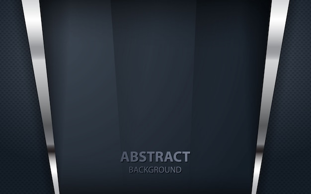 Abstract overlap black background