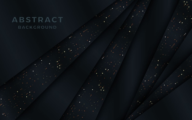 Abstract overlap metallic background with dots.