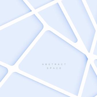 抽象的な重なり合う図形と線の背景