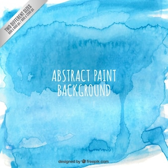 Abstract paint background in blue color Free Vector