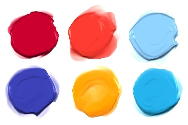 Набор абстрактных красок