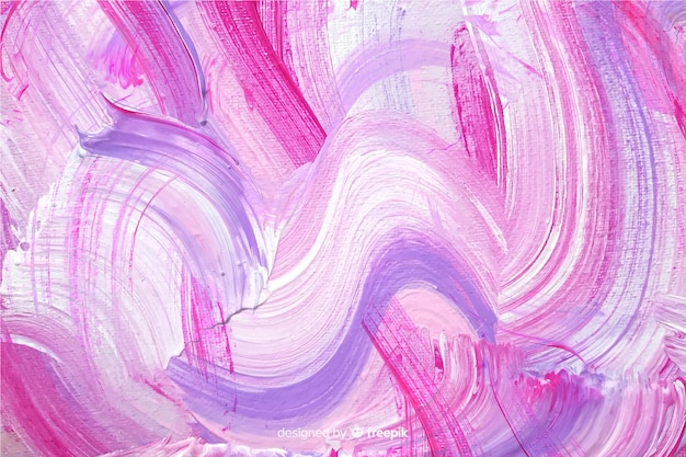 Abstract painted brush strokes background